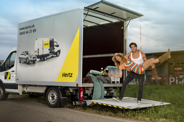 Hertz Lieferwagen