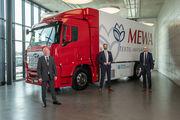 Der erste Wasserstoff-Lkw der Branche fährt für MEWA in der Schweiz