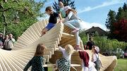Kinder spielen zu wenig draussen: Ein neues Angebot und freie Spielmöglichkeiten sollen das ändern