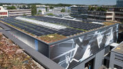 Mit 800 Quadratmetern Solarpanels für die Energiewende: Grösste Solaranlage der Stadt Opfikon eröffnet