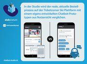 Schweizer sehen grössten Vorteil von Chatbots bei der Bestellung
