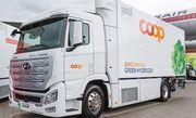 Coop bringt weitere Wasserstoff-Lastwagen auf die Strassen