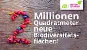 Mission B: Zwei Millionen Quadratmeter Biodiversität