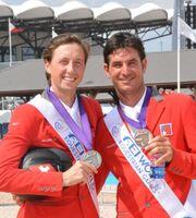 Schweizer Springreiter holen WM-Silber und -Bronze