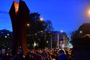 Das internationale Friedenslicht 2018 aus Bethlehem in Zürich, Basel, Luzern und Fribourg feierlich empfangen