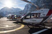 Helikopterprofis heben ab: 1. Schweizer Helitag in der linth-arena Näfels