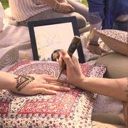 Sandra Parrinello bringt Henna Trend in die Schweiz