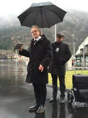 Premiere der Erstfelder Theaterdorfführung - Mit Louis Favre & Co. durch Erstfeld