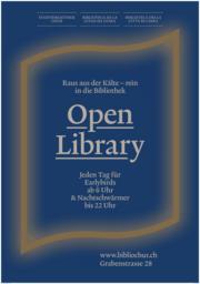 Open Library, Schweizweit neues Konzept in Chur
