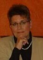 Porträt der Schriftstellerin Sabine Beuke