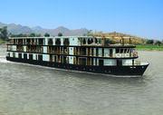 Noch fünf Monate bis zur Jungfernfahrt: Sanctuary Ananda auf dem Ayeyarwady-Fluss in Myanmar