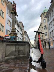 E-Scooter-Marktführer VOI startet in der Schweiz - 100 E-Roller für Winterthur