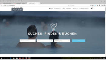 Mr. & Mrs. Goodlife - die neue Schweizer Online-Plattform für Sport-, Wellness- und Gesundheitsangebote ist online