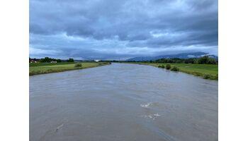 Rheinvorländer vorsorglich gesperrt