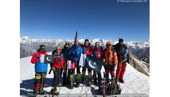 Erstbesteigung geglückt - ‹Swiss Sherpa Peak› SALGESCH / PAKISTAN