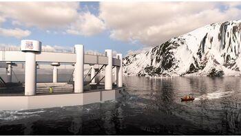 ABB ermöglicht die erste fernüberwachte Unterwasserfischfarm im Arktischen Ozean