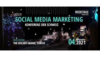 TikTok, Instagram, Facebook und Co. an der grössten Social Media Marketing Konferenz der Schweiz