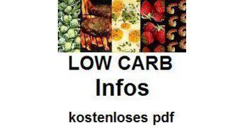 LOW CARB Infos - kostenloses pdf auf Webseite