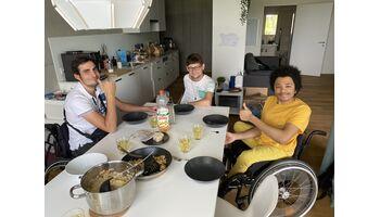 Junge Querschnittgelähmte beziehen erste ParaWG der Schweiz