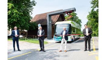 Region Baden-Wettingen: Vier neue Elektrobusse mit Schweizer Technologien ermöglichen einen nachhaltigen Betrieb der RVBW-Buslinie 5