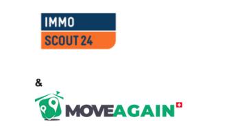 Immoscout24 geht Partnerschaft mit MoveAgain ein.
