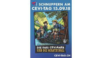 Cevi-Tag 2018: Die drei Cevianer und die Schatzinsel