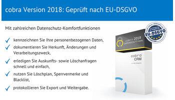 cobra CRM unterstützt Schweizer Unternehmen bei der Einhaltung der neuen EU-DSGVO