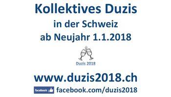 Kollektives Duzis Schweiz per 1.1.2018