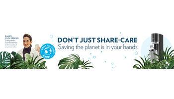 Earth Day 2021: SodaStream lanciert mit SocialMedia-Spezialistin Randi Zuckerberg die Kampagne «Don't just share, care» für nachhaltige Umweltziele