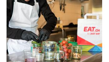 Über eine halbe Million Food-Lieferungen im Januar bei EAT.ch