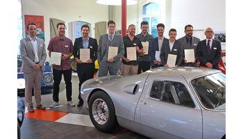 AGVS: Fachausweise für zehn Fahrzeugrestauratoren