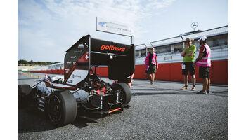 Teams aus Stuttgart und Zürich gewinnen Formula Student Germany 2018