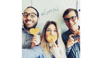 Hunderte von Selfies dank der «Woche des Glücks»