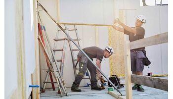 Einseitige Baumaterialien-Marktstudie des Baumeisterverbandes