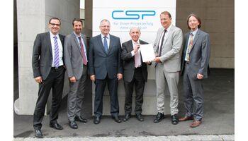 CSP AG erhält die IPMA Delta® Zertifizierung Managed