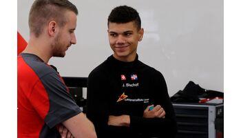 James Bischof mitten im TCR-Showdown am Sachsenring