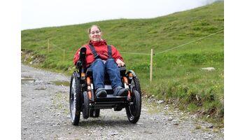 Über Stock und Stein – und das trotz Rollstuhl