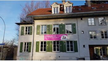 Wohnbaugenossenschaften Schweiz wirbt für ein Ja zur Initiative «Mehr bezahlbare Wohnungen»