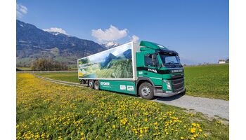 Elektro-Lkw bringt Briefpost ins Engadin