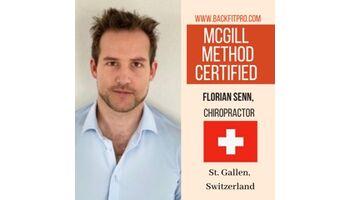Rückenschmerzen - Erster McGill Certified Provider der Schweiz in St. Gallen