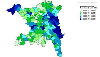 ImmoService, der Immobilienmakler im Aargau informiert: Günstigere Gebraucht-Immobilien in Tälern