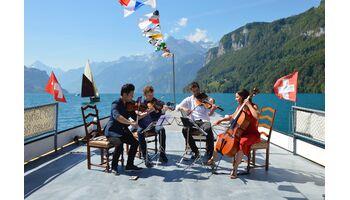 Stradivarifest Gersau - Musik an aussergewöhnlichen Orten gespielt