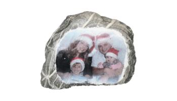 Ein Foto auf Stein als Weihnachtsgeschenk