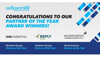 Acceleration, ONE Marketing and Reply gewinnen die Selligent Partner Awards 2020