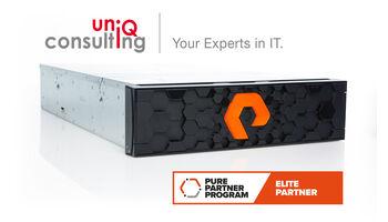 uniQconsulting mit höchstem Pure Storage ELITE Partnerstatus ausgezeichnet