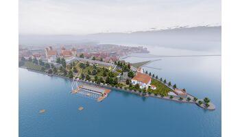 Drone Champions League: virtuelle Weltmeisterschaft ums Schloss Rapperswil