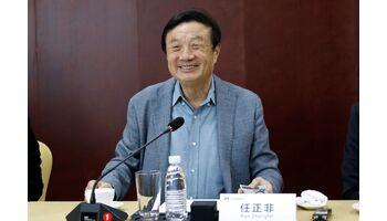 Huawei-Gründer Ren Zhengfei setzt auf Dialog mit USA