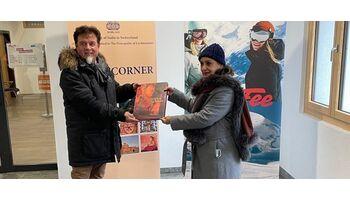 Besuch der indischen Botschafterin im Gletscherdorf
