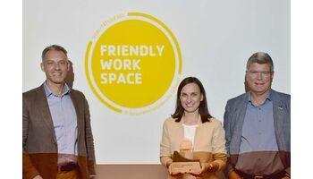 SAK wird mit Label «Friendly Work Space» ausgezeichnet