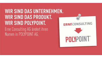 Erne Consulting AG wird neu POLYPOINT AG